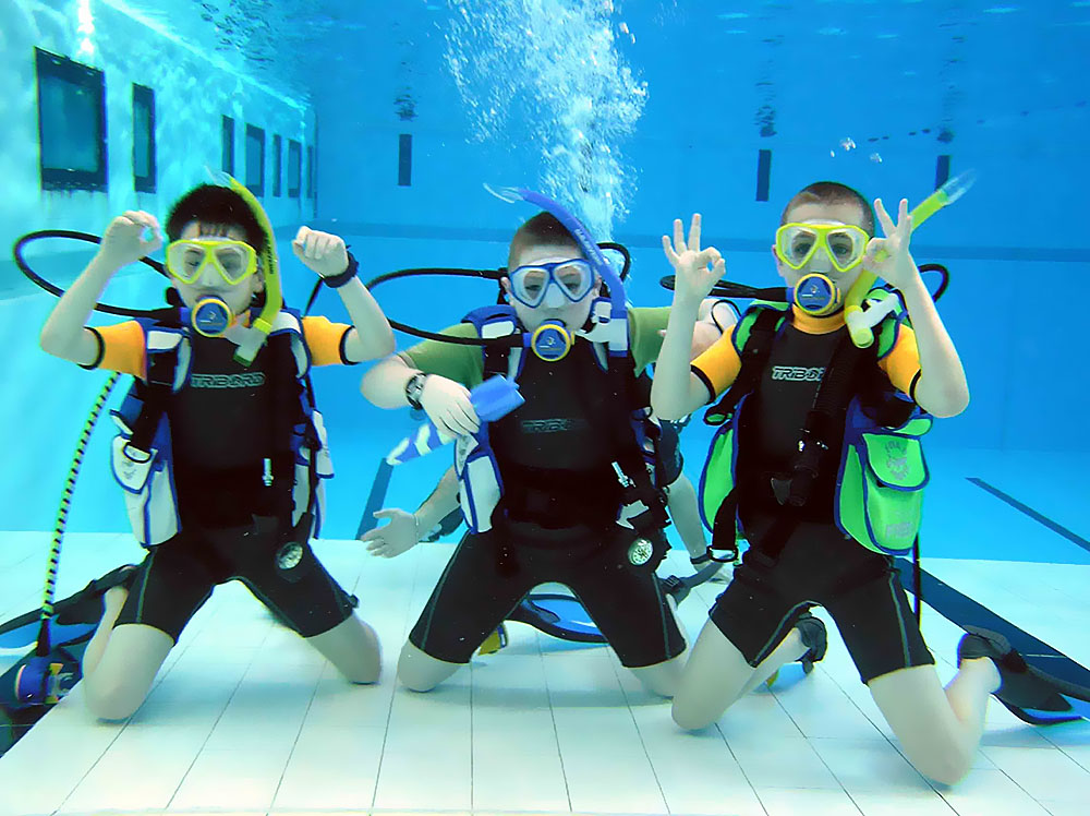 Diving courses for children